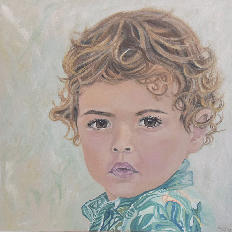 1 Portretschilderen Alies de Jonge Phyllon