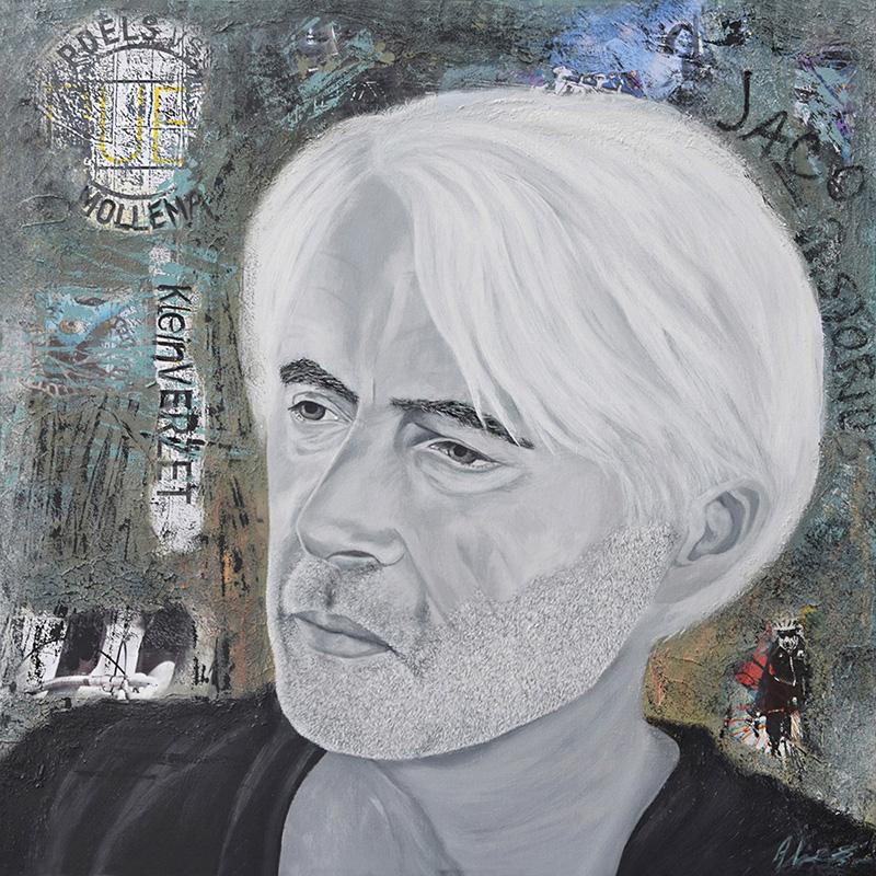 2 Portret schilderen Alies de Jonge