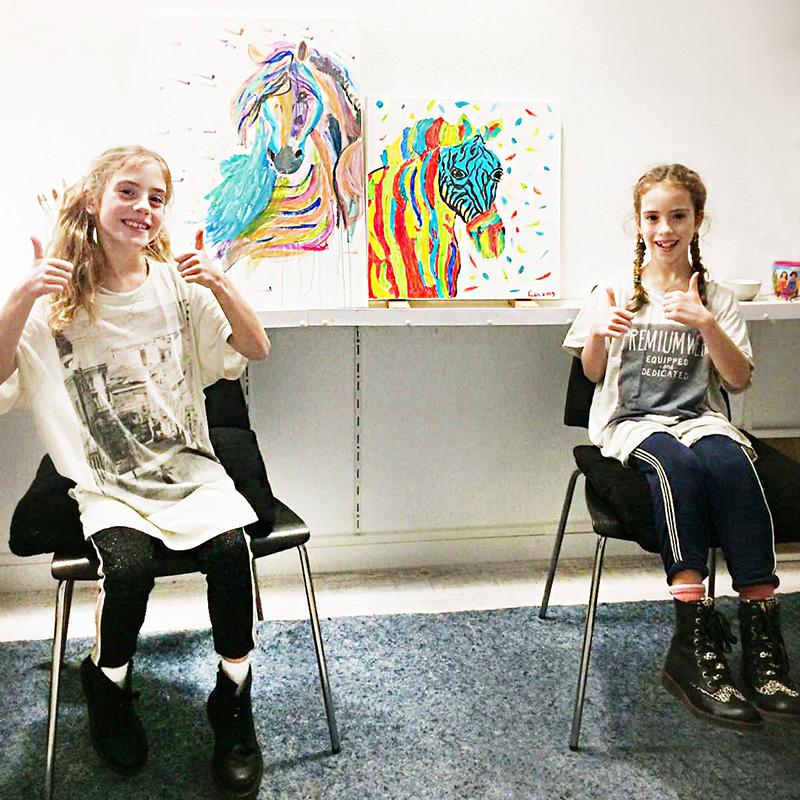 Portretschilderen - Alies de Jonge